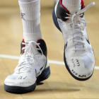 Durant's sneakers during the World Basketball Championship served as a reminder of his motivations, as he honored many of his deceased friends by writing their names across his shoe tops. He also included a reference to the Sept. 11 terrorist attacks by inscribing the date prominently over his left toes.
