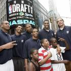 Durant stands among his fellow prospects before the NBA Draft on June 28, 2007. While all were selected in the first round, it's hard to dispute that anyone's had a bigger impact than the former Texas small forward. He finished second in MVP voting in 2009-10.