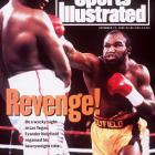 "Holyfield regained the title from Riddick Bowe in the middle bout of their legendary '90s trilogy -- the notorious ""Fan Man"" fight."