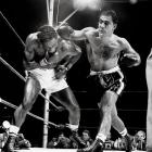 "The Brockton Blockbuster was behind on points against heavyweight champ Jersey Joe Walcott when he connected with his famous ""Suzie Q"" in the 13th round and recorded a devastating knockout to win the title. After six defenses, he'd become the first and only heavyweight champion to retire undefeated."