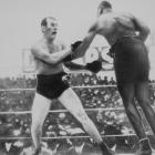 Burns won the title from Marvin Hart on points and made 11 title defenses -- often as an underdog due to his modest 5-foot-7 stature -- before losing it to Jack Johnson.