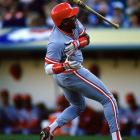 In a lineup with Barry Larkin, Paul O'Neill and Eric Davis, Cincinnati outfielder Billy Hatcher, a career .264 hitter, was the most consistent threat to the Oakland Athletics during the 1990 World Series.  He totaled nine hits in twelve at-bats, including a World Series record seven in a row, to guide the Reds to an unlikely sweep of the defending champion A's.