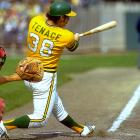 Catcher Gene Tenace flashed surprising power during the 1972 World Series, crushing four home runs for the Oakland Athletics during their showdown with the Cincinnati Reds.  It was especially uncharacteristic of Tenace, who hit just five homers over the course of the entire regular season for the A's.  Tenace added two hits, two RBIs and the game-winning run in Game 7, earning the backstop World Series MVP honors.