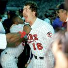 Twins' pitcher Frank Viola was scheduled to be the best man at his brother's wedding on Oct. 17, 1987, but had to cancel after finding out that Game 1 of the World Series fell on the same day.  It was a good thing he did, as Viola hurled eight innings of one-run ball during a 10-1 Minnesota victory over St. Louis.  He lost Game 4 but toed the rubber again in Game 7, when, despite a shaky start, he pitched another eight-inning masterpiece as the Twins won their first title.