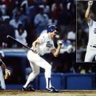 Bothered by lingering knee and hamstring injuries, the Dodgers' Gibson was not expected to play in Game 1. He watched as the heavily-favored Athletics jumped out to a 4-3 lead heading into the 9th inning, bringing in Dennis Eckersley to close the door on L.A.  With one on and two outs, manager Tommy Lasorda summoned a hobbled Gibson to pinch-hit. With a 3-2 count, Eckersley unleashed a backdoor slider, which Gibson launched into the right-field bleachers to give the Dodgers a dramatic, improbable, come-from-behind victory.
