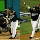 Overshadowed by Josh Beckett's commanding performance in Game 6, Alex Gonzalez's at-bat in the bottom of the 12th in Game 2 was the pivotal moment in the 2003 World Series.  He hit a wall-scraping homer off Jeff Weaver to seal a 4-3 Marlins win, a momentum-shifting blast that would even Florida and New York at two games apiece.  Gonzalez struck again in Game 6, singling and scoring in the fifth for the series-winning run.