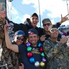 Fans flocked to Kansas Speedway on Sunday to watch as Greg Biffle rode into Victory Lane with a win in the third race of this year's Chase for the Championship.