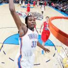 2009-10 Key Stats: 30.2 ppg | 1.6 3PM | 7.6 rpg | 1.0 bpg   The top player in fantasy basketball, Kevin Durant does a little bit of everything for your team.  He's the league's top scorer, he pulls down rebounds and he's got great percentages across the board.  The scary part? He's only 22, and as his knowledge of the game grows, his rebounds and blocks will undoubtedly increase.