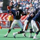 """The NFL Players' Union went on strike midway through the 1987 season to lobby for a collective bargaining agreement, leaving many teams without complete rosters.  Owners hastily picked up replacement players to fill the void, one such player being Sean Payton, a reserve quarterback for the Chicago """"Spare Bears.""""  Though he completed just eight of 23 passes during his brief stint in the league, Payton later found success in the NFL, coaching the New Orleans Saints to a Super Bowl XLIV championship.  Send comments to siwriters@simail.com"""