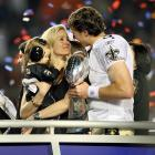 It's been an eventual year for Drew Brees. Here, we take a look at some of the highlights of SI's 2010 Sportsman of the Year, starting with Brees holding the Vince Lombardi trophy (with wife Brittany and son, Baylen) following his team's Super Bowl XLIV win over Indianapolis last February.