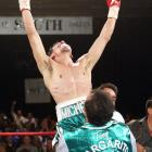 Margarito captured his first world title just two days before his 24th birthday with a 10th-round TKO of Diaz for the WBO welterweight belt. He'd defend the title seven times over the next five years, including five knockouts.