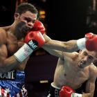 Cintron was 24-0 entering a highly anticipated showdown with Margarito for the 147-pound title, but suffered four knockdowns before his corner threw in the towel at 2:21 of the fifth round.