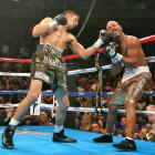 Margarito returned to the win column with a first-round knockout of Johnson on the undercard of the Miguel Cotto-Shane Mosley main event in New York.