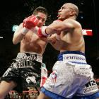 Margarito vacated the IBF welterweight title by opting against a rematch with mandatory challenger Joshua Clottey, clearing the way for a showdown with Cotto, the undefeated WBA 147-pound beltholder. In  one of the fights of the year , Margarito stormed from behind to score a devastating 11th-round TKO.