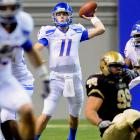 Last Week:  19-of-26 passing for 216 yards and three TDs in 52-14 win over Idaho   Season:  174-of-242 passing for 2,588 yards, 24 TDs and four INTs; one reception for seven yards and one TD; one punt for 54 yards  The nation's most efficient passer flashed his  inner gunslinger  -- and showed he's got a little improve in his game. Flushed from the pocket, Moore scrambled left and threw on the run to Gabe Linehan in the back of the end zone for a 21-yard TD, capping his day as the Broncos won their 23rd straight game and kept the Governor's Trophy for the 12th straight year. Now Moore turns his sights toward another rivalry trophy --  the Milk Can .   Next Up:  Friday vs. Fresno State