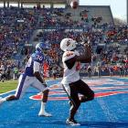 Last Week:  10 catches for 130 yards and one TD in a 48-14 win over Kansas   Season:  94 catches for 1,560 yards and 17 TDs; four rushes for 77 yards and one TD; one blocked punt recovery for a TD  Blackmon's assault on the record books continues. He's now racked up 10 straight games with at least 100 yards receiving (one behind the season record shared by three players) and he's 113 yards shy of breaking Larry Fitzgerald's sophomore mark of 1,672. Blackmon's pursuit of both those marks against an Oklahoma defense that's already allowed 171 yards to Cincinnati's D.J. Woods, 139 to Missouri's Jerrell Jackson and 136 to Texas A&M's Ryan Swope will add another subplot to the Bedlam Game.   Next Up:  Saturday vs. No. 14 Oklahoma