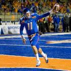 Last Week:  20-of-28 passing for 298 yards, two TDs and one INT; one reception for seven yards and one TD; one punt for 54 yards in 49-20 win over Louisiana Tech   Season:  214-of-307 passing for 1,865 yards, 18 TDs and two INTs; nine rushes for minus-24 yards; one reception for seven yards and one TD; one punt for 54 yards  Not to be outdone by Newton's box score-filling exploits, Moore caught the first TD pass of his career and delivered a 54-yard punt, the longest by the Broncos this season to go along with his fourth game with at least 267 yards passing in 2010. For you history minded folks, Notre Dame's Paul Hornung (1956) was the last Heisman-winning quarterback to have his team's longest punt.   Next Up:  Saturday vs. Hawaii