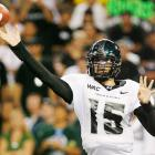 Colt Brennan is another rarity in that he walked on twice, first at the University of Colorado in 2003, then again in 2005 at the University of Hawaii. His second stint proved more successful, and by the time Brennan graduated in 2008 he held the NCAA record for most touchdown passes in a single season, highest pass completion percentage and  passing efficiency.