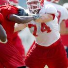 A walk-on at Fresno State, Mankins started 14 games as a redshirt freshman, allowing only two sacks on future No. 1 pick David Carr. He was named to the Freshman All-America team and would later become the first offensive lineman in Fresno State history to win the team's MVP award.