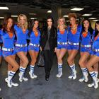 If you're into keeping up with Kim, she was kickin' with the Knicks City Dancers at Madison Square Garden on Nov. 14.