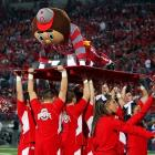 Ohio State's mascot got carried away during the fourth quarter of the Buckeyes' 38-14 triumph over Penn State.