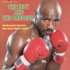The hard-hitting southpaw was undisputed middleweight champion for seven years, racking up victories against Roberto Duran, Thomas Hearns and John Mugabi. One of the most complete fighters in history, Hagler was never knocked out during his career.
