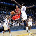 Rose continues to dazzle with his athleticism and explosiveness. In 2010-11, his third season, Rose became the youngest MVP in history by averaging career highs in scoring (25 points per game), assists (7.7), rebounds (4.1) and three-point shooting (33.2 percent). In the process, Rose turned the Bulls into title contenders for the first time since the Michael Jordan era, a label they own again in 2011-12.