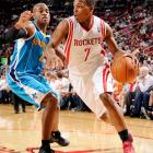 Kyle Lowry didn't become a full-time starter until 2010-11, his fifth NBA season, but he took full advantage of the opportunity. Lowry averaged 13.5 points, 4.1 rebounds, 6.7 assists and 1.4 steals while showing a much-improved three-point stroke. He struggles a bit with turnovers and is only a career 42 percent shooter, but Lowry has established himself as a strong two-way floor leader.
