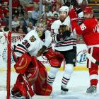 A shopping spree that brought in Marian Hossa (12 years, $62.8 million), Brian Campbell (eight years, $56.8 million) and Cristobal Huet (four years, $22.4) ultimately left the Blackhawks with scant breathing room under the cap and cost them 10 valuable support players after winning the Stanley Cup in 2010. Huet became an albatross after he failed to hold the starting job in net. The Blackhawks ended up having to assign him and his cap hit to HC Fribourg-Gotteron in Switzerland before the 2010-11 season. Campbell's campaign was delayed a month by a knee injury, but at age 31 and with a $7 million cap hit, he, too, became problematic. Fortunately, ex-Blackhawks GM Dale Tallon, now with Florida, was willing to trade Rotislav Olesz for him in June 2011.
