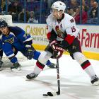 """A dispute with new coach Cory Clouston over ice time and his role led Heatley to demand a trade -- only one season after signing a six-year, $45 million contract with the Senators. """"We signed [Heatley] to a long-term deal and we expect him to honor it,"""" said GM Bryan Murray, who found himself wrestling with a player who had a no movement clause and no desire to play in Ottawa. When Heatley nixed a trade to Edmonton in July 2009, the Senators were left on the hook for a $4 million bonus. The soap opera dragged on until mid-September, when the disgruntled sniper was finally traded to San Jose for Jonathan Cheechoo, Milan Michalek and a 2010 second-round pick."""