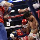From the third round on, Pacquiao appeared increasingly comfortable with the physical challenges Margarito presented.