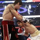 Pacquiao's work rate and extraordinary hand speed trumped Margarito's size advantage.