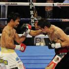Pacquiao's hand speed dumbfounded Margarito throughout the fight as he racked up round after round on the judges' scorecards.