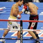 Pacquiao impressed many observers with his in-fighting against one of boxing's most powerful punchers.