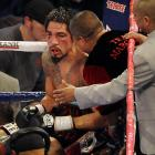 """Margarito trainer Robert Garcia said he never considered stopping the fight. """"Tony's a warrior,"""" Garcia said, """"and he would have never allowed me to stop this fight."""""""