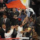 The ringside judges scored it 120-108, 119-109 and 118-110 to Pacquiao: a unanimous decision.