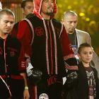 Margarito, the former welterweight champion, appeared relaxed prior to the fight despite the 5-to-1 odds against him.