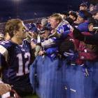 Brady quickly captured the admiration of Patriots fans, engineering a 6-3 start while Bledsoe recovered from injury.