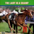 Genuine Risk became just the second filly to win the Kentucky Derby when she took home the top prize in 1980 and the only filly to finish in the money in each of the Triple Crowns' events. She finished her career 10-15, earning just shy of $650,000 in the process.