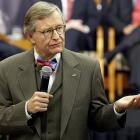 "Ohio State president Gordon Gee was archly dismissive of Boise State and Texas Christian University on Nov. 24 when he said that even if their teams won all their remaining football games, their conference affiliations should preclude them from playing for the national championship. ""We do not play the Little Sisters of the Poor,"" Gee said of the Buckeyes' schedule. ""We play very fine schools on any given day."" Gee once was president of Brown University, one of the Little Sisters of the Rich."