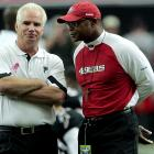San Francisco 49ers coach Mike Singletary is supposed to all be about character, right? (c.f. Davis, Vernon; tight end.) So it was a pity when he blew off the traditional postgame handshake with Atlanta coach Mike Smith after San Francisco's 16-14 loss on Oct. 3. At least Singletary conceded a few days later that he had exhibited poor sportsmanship.