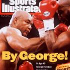 At 45, Foreman regained the heavyweight title he'd lost to Muhammad Ali more than two decades earlier with a knockout of Michael Moorer on Nov. 5, 1994. He'd fight four more times before retiring shortly before his 49th birthday.
