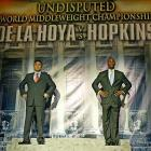 Next for Hopkins was a highly publicized showdown with Oscar De La Hoya, who was moving up to middleweight. It marked the most lucrative fight of Hopkins' career.