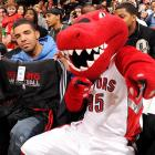 The rapper and the Raptor. Has a nice ring to it, no?