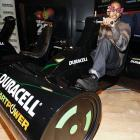 The Giants cornerback got himself one heckuva pimped-out ride at the Duracell Mobile Smart Power Lab  in New York City. No doubt he's the envy of his Big Blue teammates.