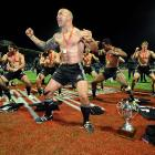 Not exactly Chippendales, but New Zealand's DJ Forbes and his rugged rugby teammates doing the Haka after winning the Cup final against England in George, South Africa, will have to do for the ladies this week.