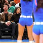 No butts about it, Madison Square Garden is happening place to be, as you can see from the look on Mr. McDermott's face.