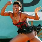 We see London, we see France. We see Venus in her underpants. Alas, Ms. Williams and her, shall we say, revealing maximum-ventilation outfit were unceremoniously ousted in the fourth round of the French Open -- presumably before gendarmes raided the place.