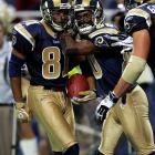 'Mediocrity' was the ultimate buzzword in NFL circles in 2004, as both the Vikings and Rams qualified for the playoffs without winning records. However, history will be relatively kind to both franchises for winning in the wild-card round. For Minnesota, it was a surprise victory at Green Bay. For Marc Bulger, Marshall Faulk and Torry Holt, the Rams' validation came with a road win against Seattle.