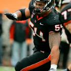 Paea jumped on the radar screen as a junior and has impressed scouts since.  He's an explosive one-gap tackle who's drawing comparisons to former USC first-round pick Sedrick Ellis.     1 st  Round  Prospect